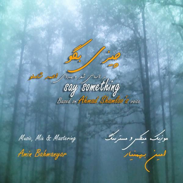 دانلود آهنگ جدید امین بهمن یار چیزی بگو